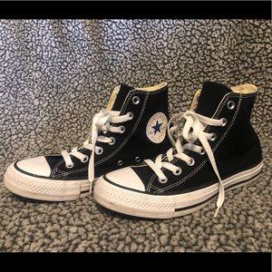 Black Hightop Chuck Taylor All Star Converse